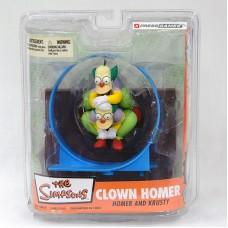 The Simpsons: Homer and Clown Krusty (Фигурки Гомера и Клоуна Красти)