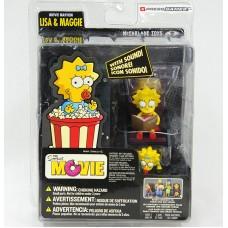 The Simpsons Movie: Lisa & Maggie (Фигурки Лизы и Мэгги)