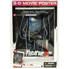 Friday The 13th 3D Movie Poster (Объемный постер)