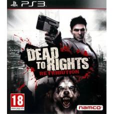 Dead to Right Retribution английская версия PS3