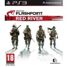 Operation Flashpoint Red River английская версия PS3