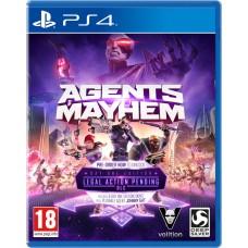 Agents Mayhem русская версия PS4