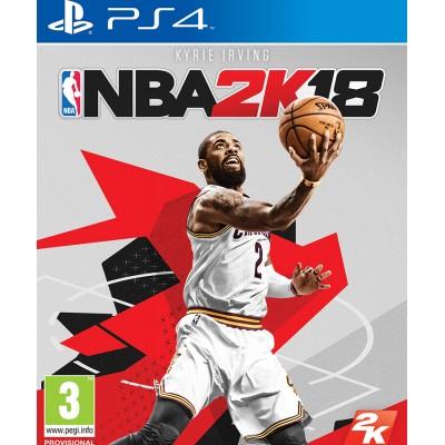 NBA 2K18 английская версия PS4
