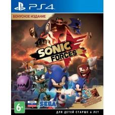 Sonic Forces русская версия PS4