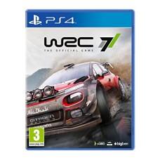 WRC 7 русская версия PS4