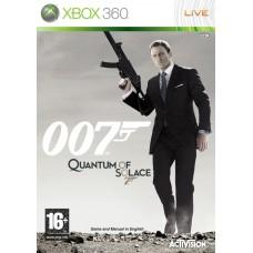 007 Quantum of Solace английская версия Xbox 360
