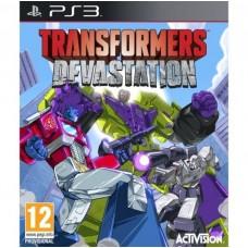 Transformers Devastation английская версия PS3